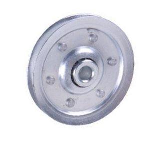 garage door press fit pulley